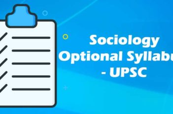 Sociology-Optional-syllabus