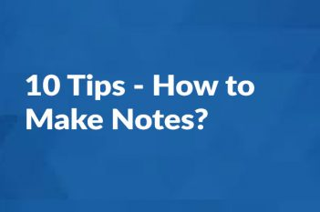 How to make notes