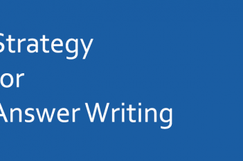 How to start answer writing mains